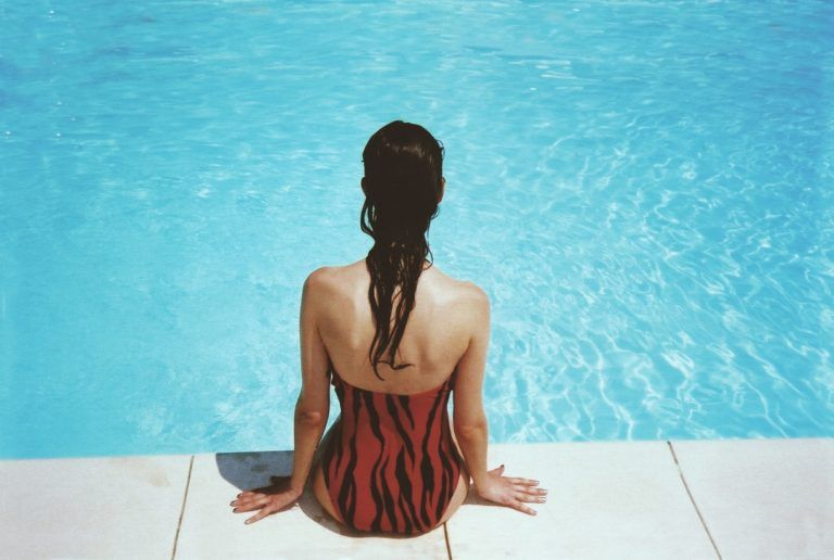 Beginning swimmer