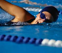 image of swimmer doing freestyle