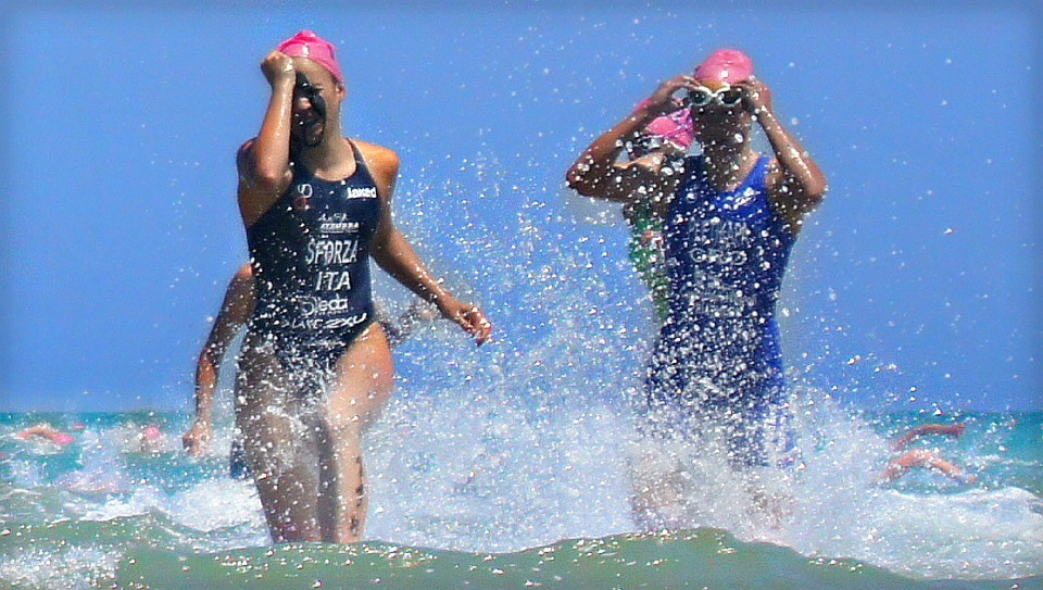 Swimming for triathlees